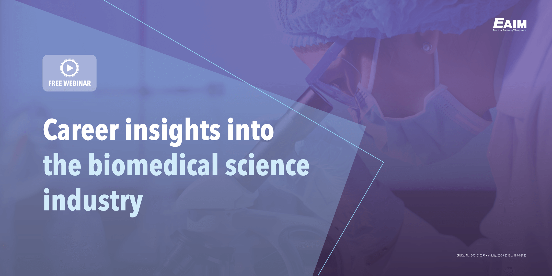 Webinar Talk Show Replay: Career Insights into the Biomedical Science Industry