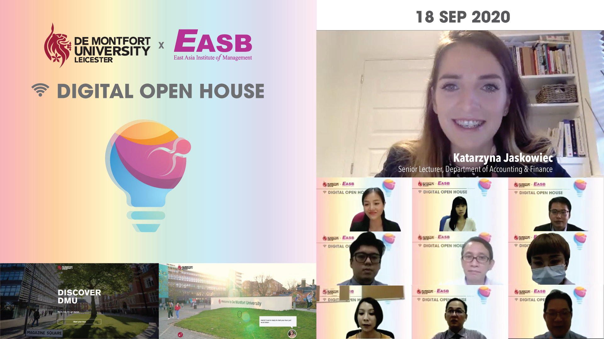 De Montfort University Digital Open House