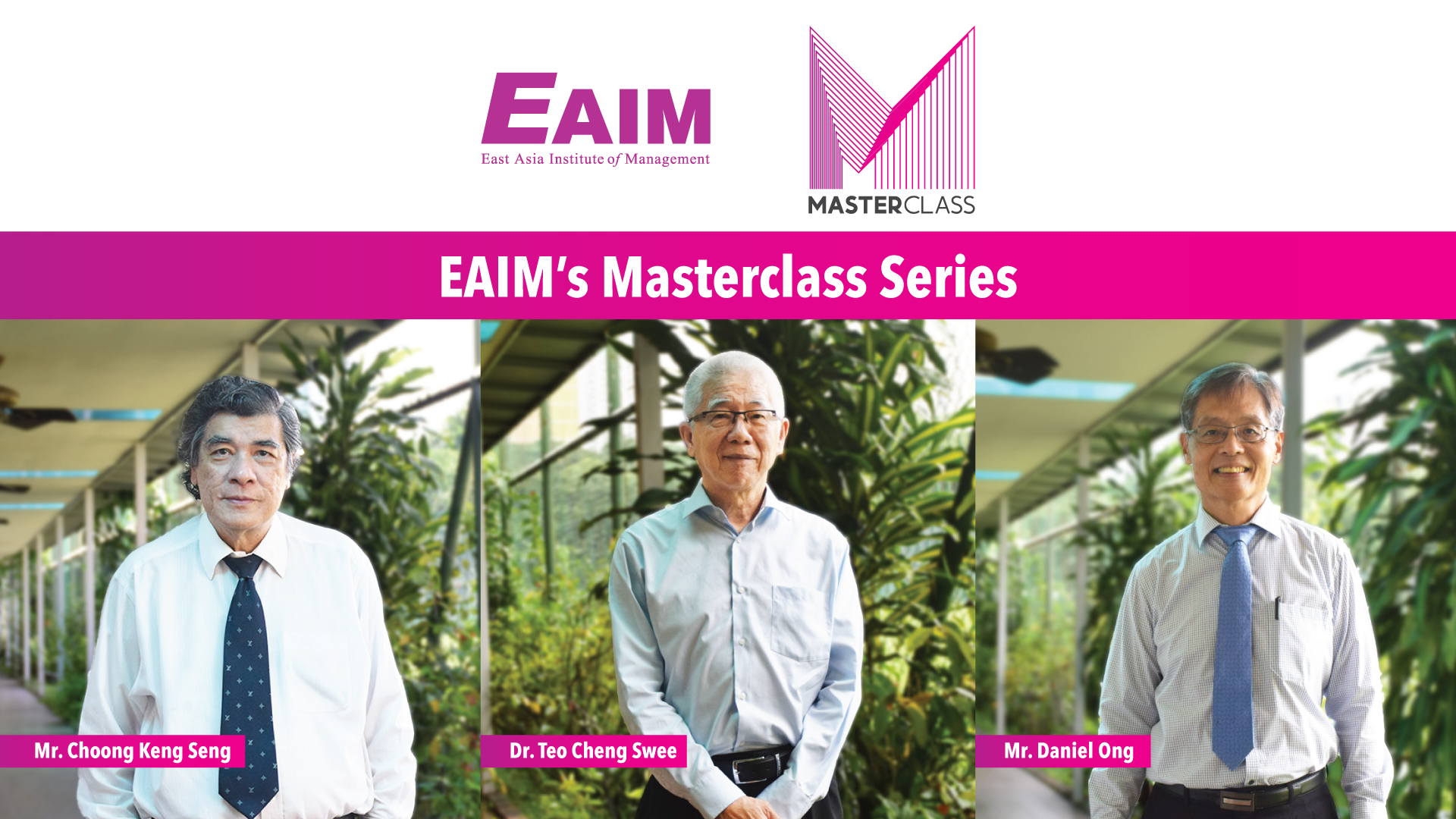 EAIM's first Masterclass Series has concluded successfully