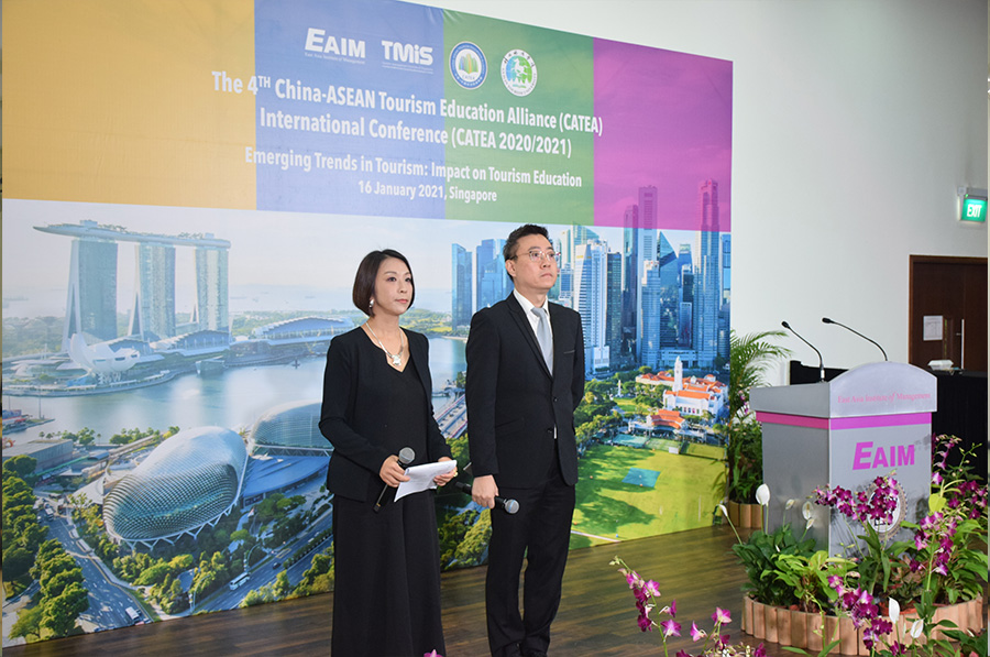 EAIM proudly hosted The 4th China-ASEAN Tourism Education Alliance (CATEA) International Conference on 16 January 2021