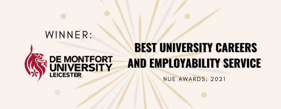 DMU is awarded the Best University Careers Employability Service!